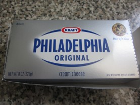 Cream Cheese Package Of every cream cheese box